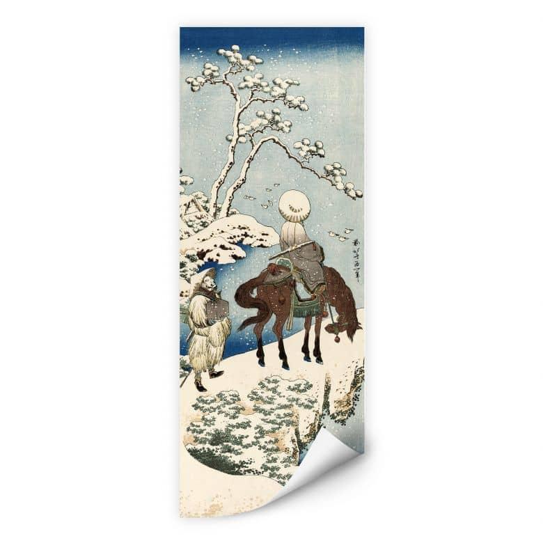 Wallprint Hokusai - Der chinesische Dichter Su Dongpo