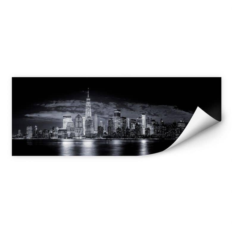 Wallprint Carvalho - Skyline at Night - Panorama