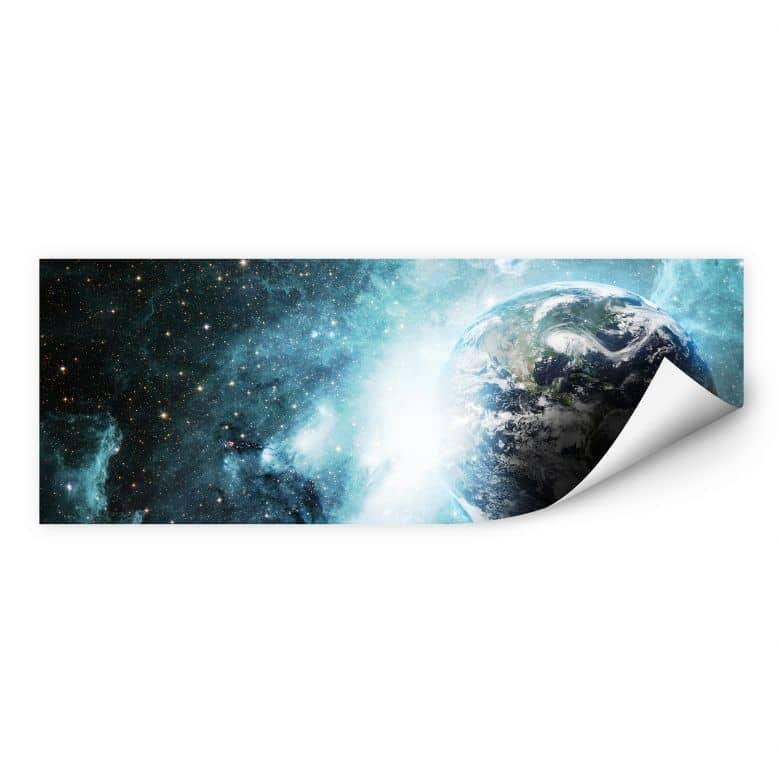 Zelfklevende Poster - In a Galaxy Far Away
