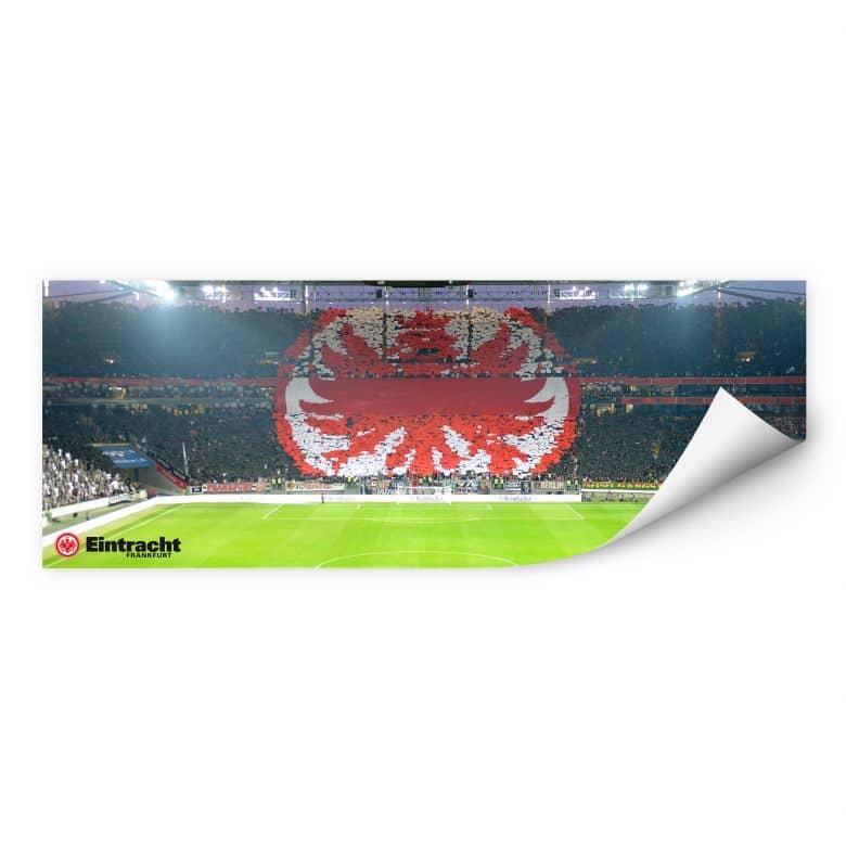 Wallprint W - Eintracht Frankfurt Arena Fanlogo - Panorama