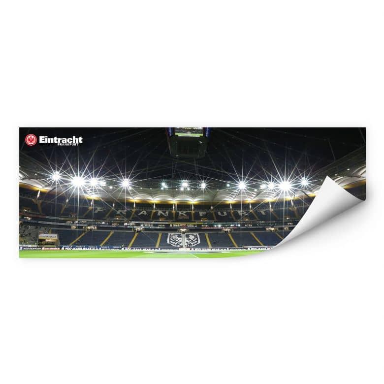 Wallprint W - Eintracht Frankfurt Nacht - Panorama