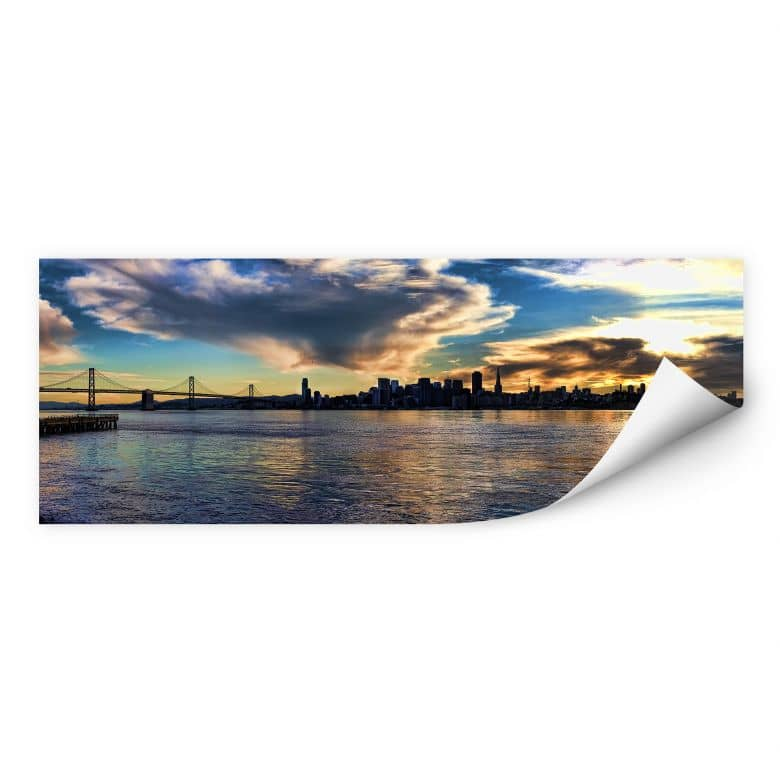 Wallprint W - San Francisco Skyline - Panorama