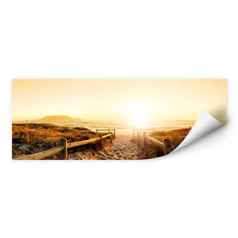 Wallprint W - Sunset at the Beach