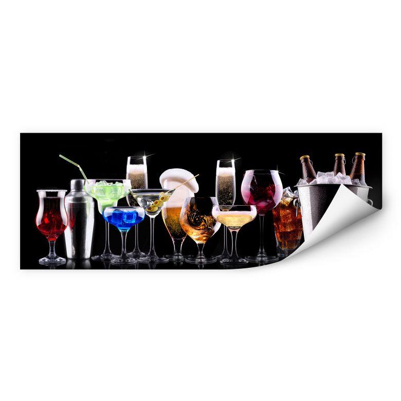 Wallprint W - Cocktail Feeling - Panorama