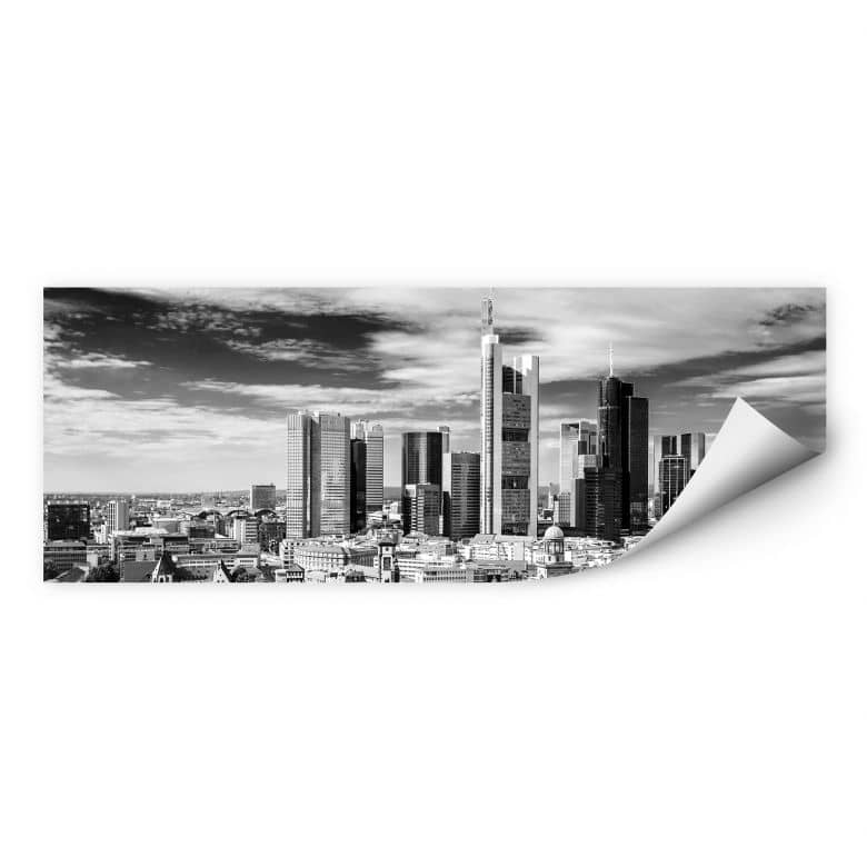 Wallprint Frankfurter Skyline - Panorama