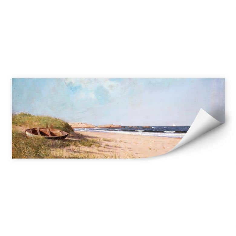 Wallprint Silva - Am Strand - Panorama