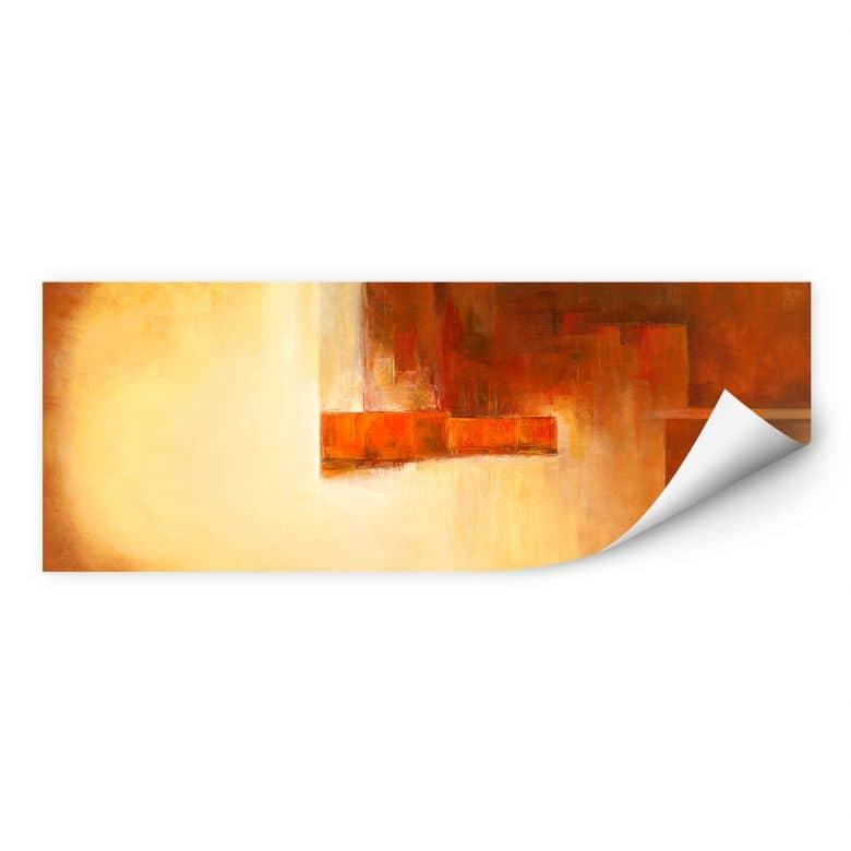 Wallprint Schüßler - Orange-Brown Balance