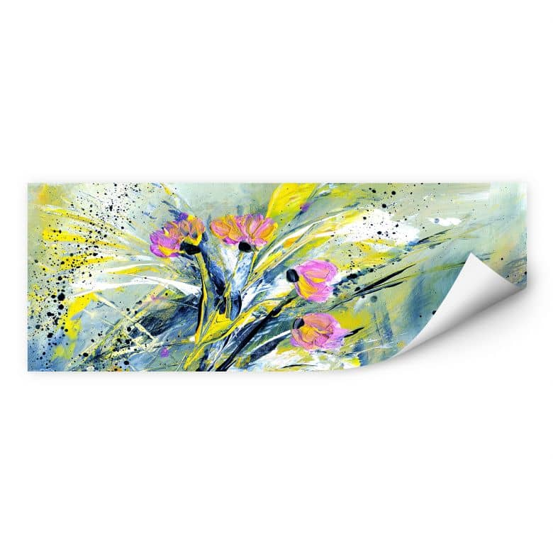 Wallprint Niksic - Flower Rock 'n' Roll - Panorama