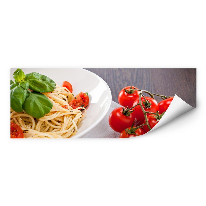 Wallprint W - Pasta Italiana Panorama