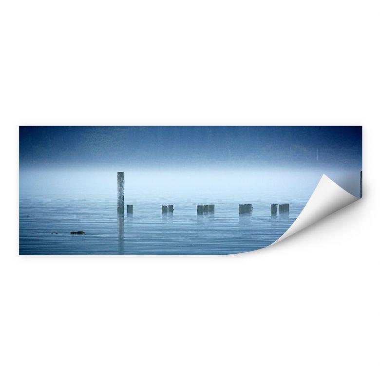 Zelfklevende Poster - Fog