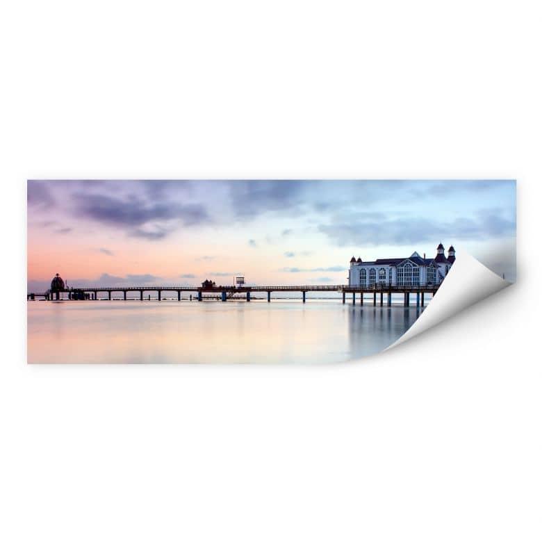 Wallprint W - Seebrücke Sellin - Panorama