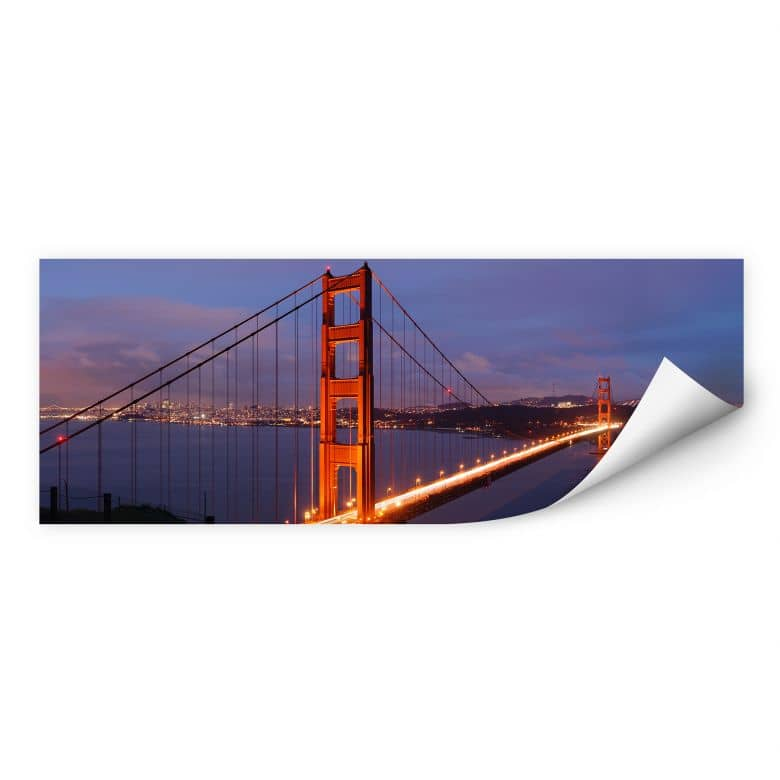Wallprint W - Golden Gate Bridge Panorama