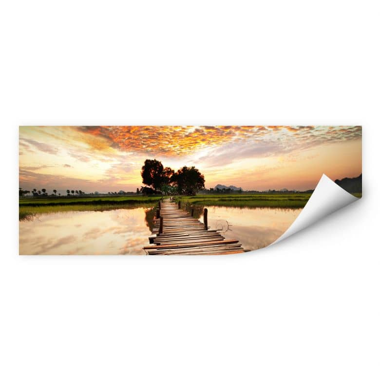 Wallprint W - To the other Side - Panorama