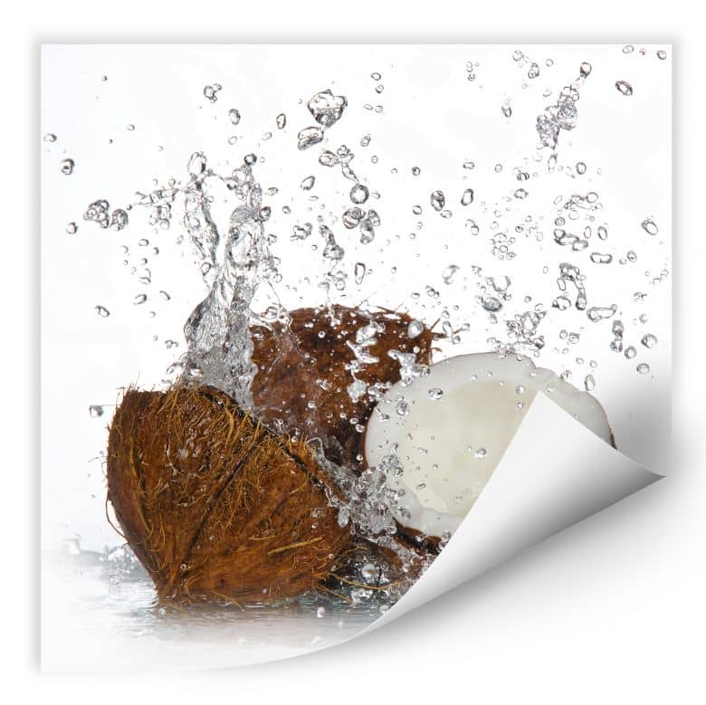 Wallprint W - Caribbean Coconut