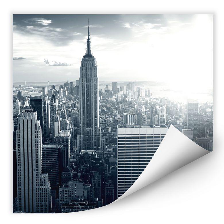 Wallprint W - The Empire State Building - quadratisch