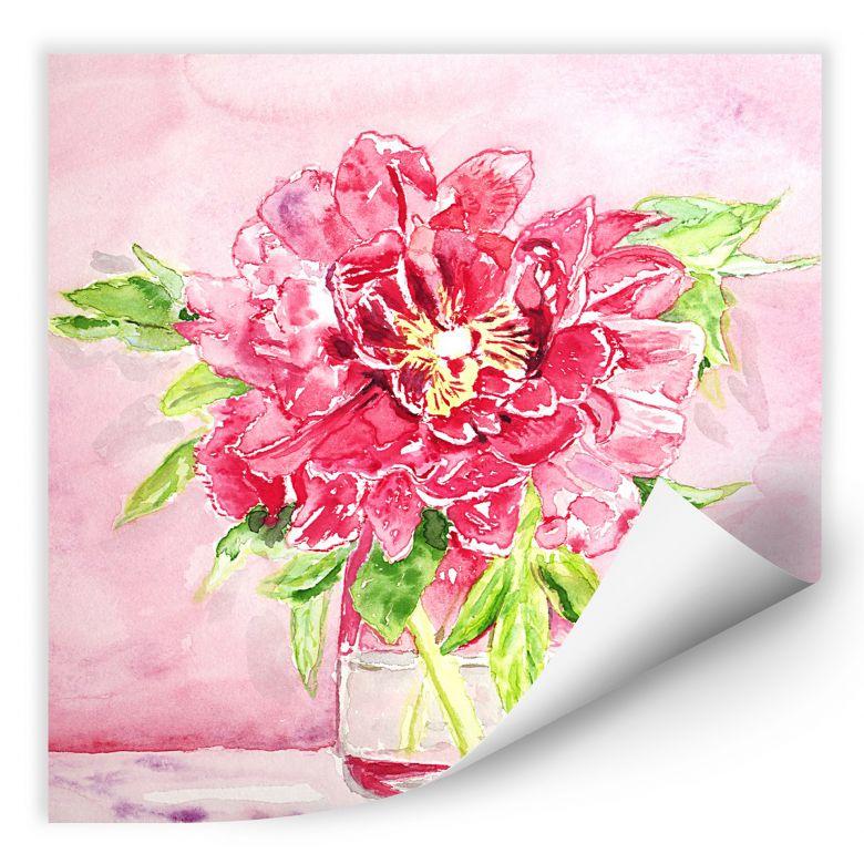 Wallprint Toetzke - Bouquet for Mavis - quadratisch