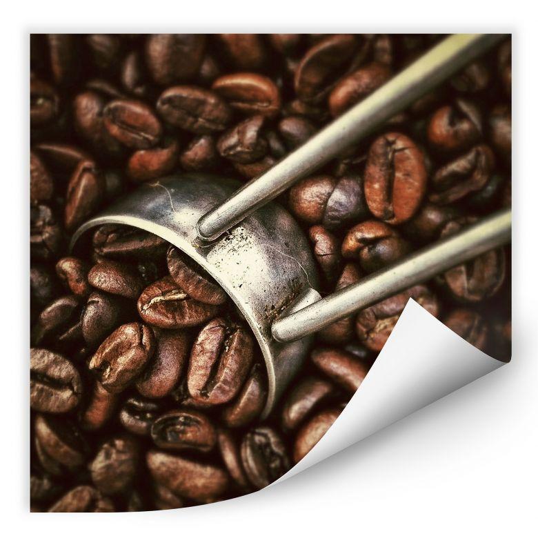 Wallprint Kaffeerösterei