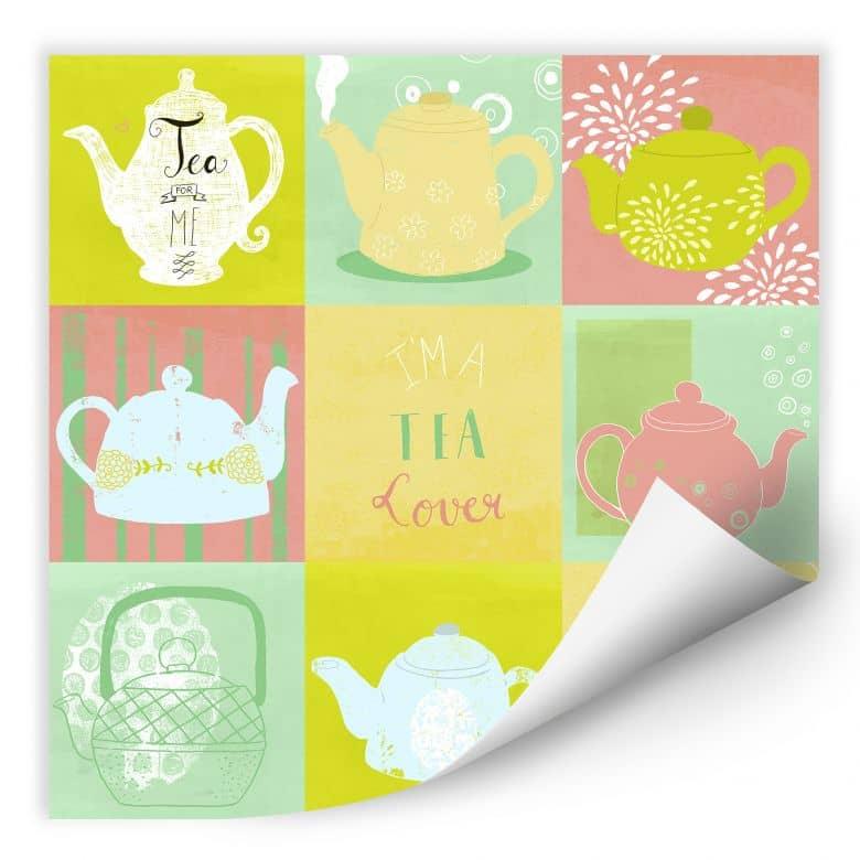 Wallprint Loske - Tea Time
