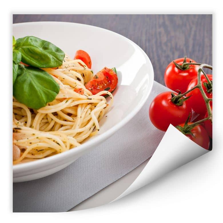Wallprint W - Pasta Italiana - quadratisch