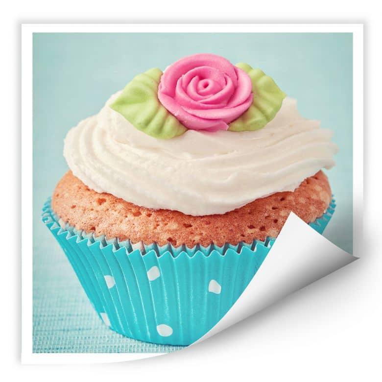 Wallprint W - Sweet Cupcake - quadratisch