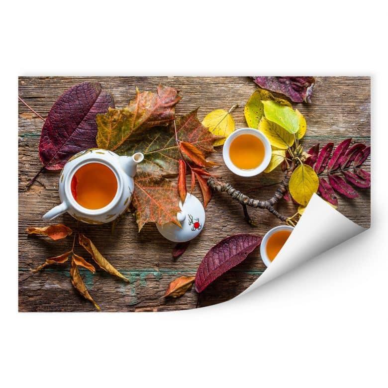Wallprint Aristov - Tea of September