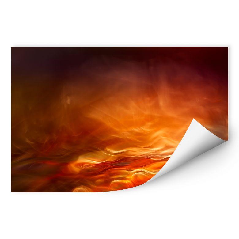 Wallprint Marthinussen - Burning Water
