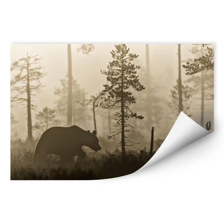 Wallprint Ove Linde - Nebel am Morgen