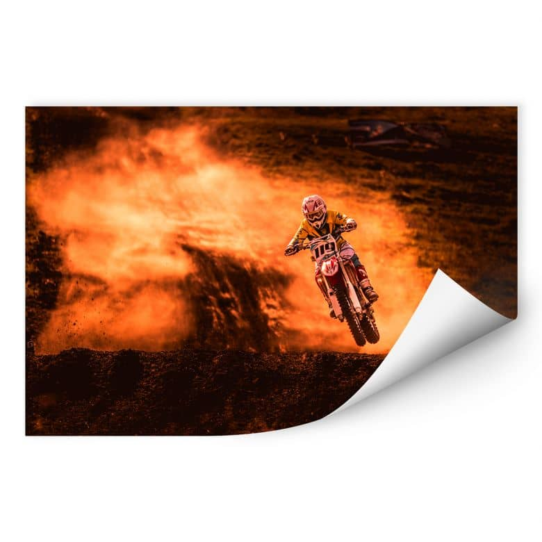 Wallprint Igor - Motorcross