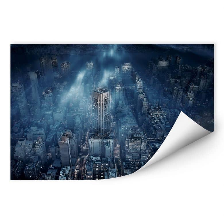 Wallprint Løndal - Mist in NYC