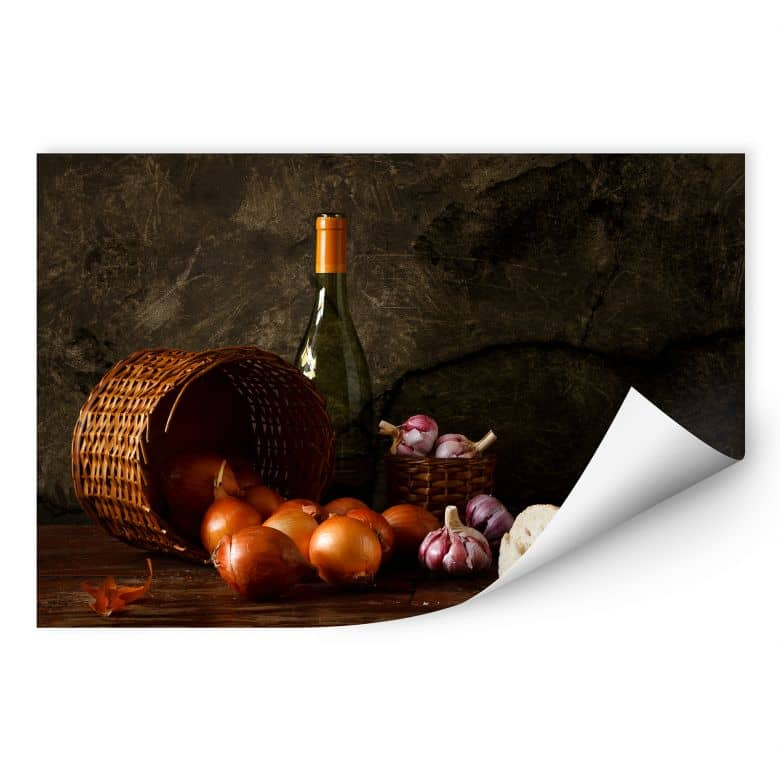 Wall print Laercio - Onion basket