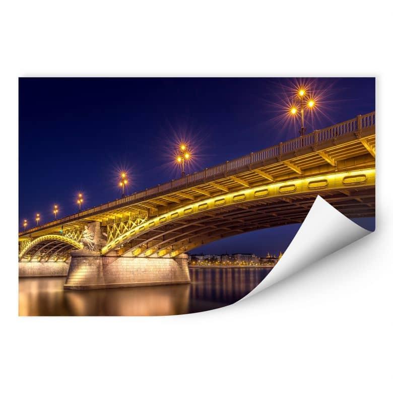 Wallprint Mørkeberg - Budapest bei Nacht