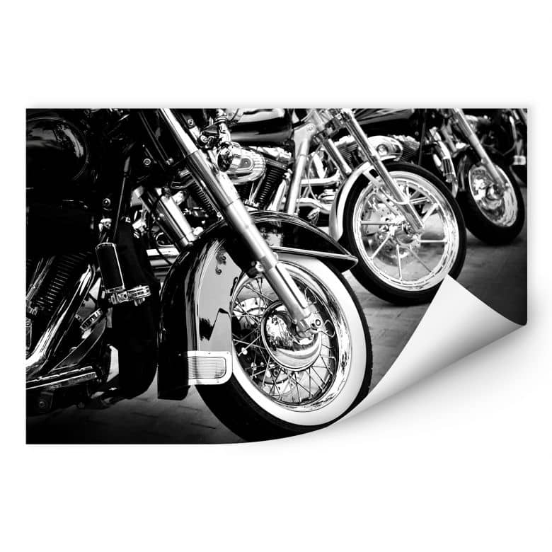Wallprint W - Motorcycle Wheels