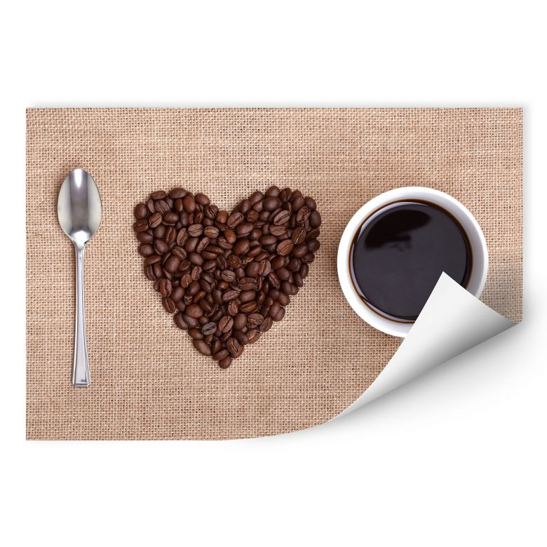 Wallprint W - I love Coffee