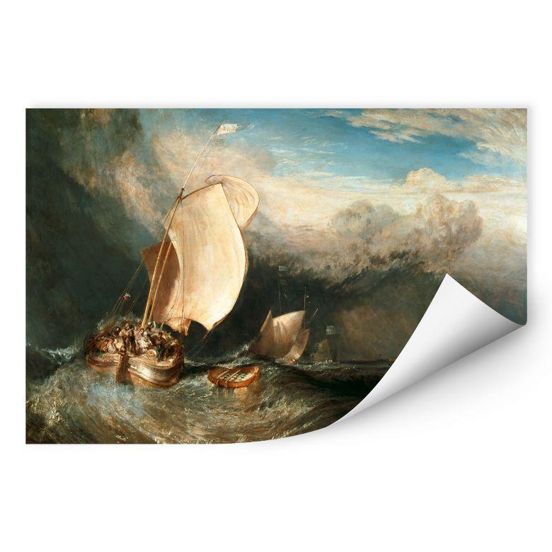 Wallprint W - Turner - Fischerboote