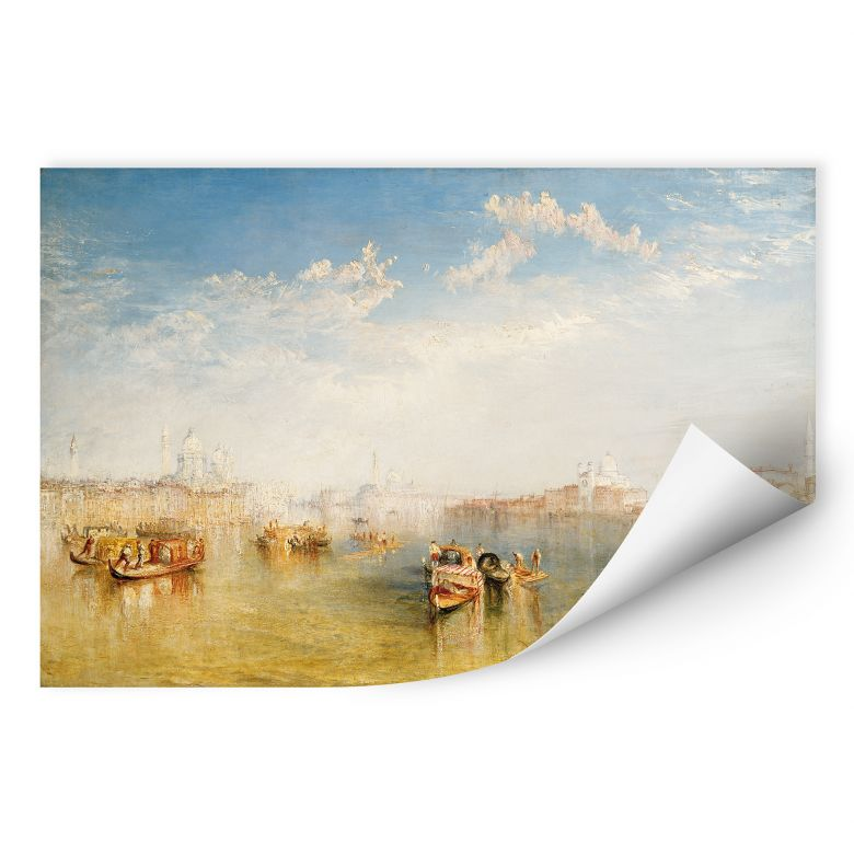 Wallprint W - Turner - Giudecca, La Donna Della Salute und San Giorgio