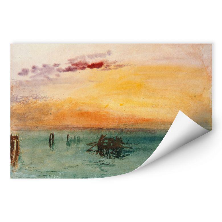 Wallprint W - Turner - Venedig von Fusina aus gesehen
