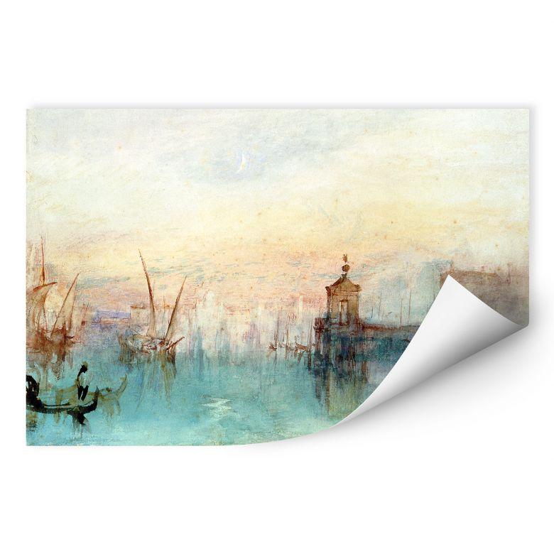 Wallprint W - Turner - Venedig mit erster Mondsichel