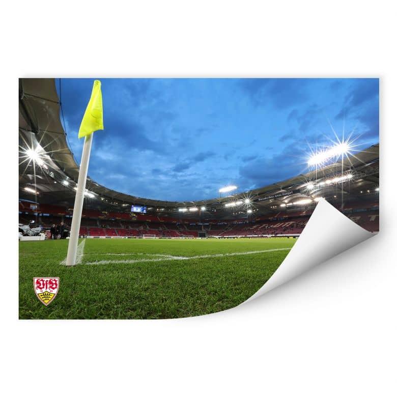 Wallprint W - VfB Stuttgart Arena Nacht