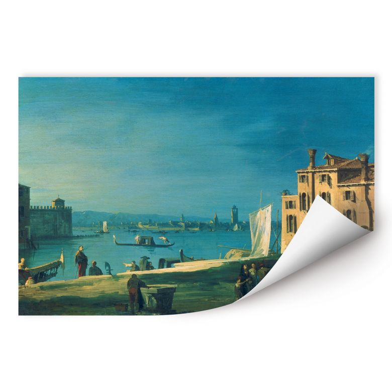 Wallprint W - Canaletto - Die Insel Murano