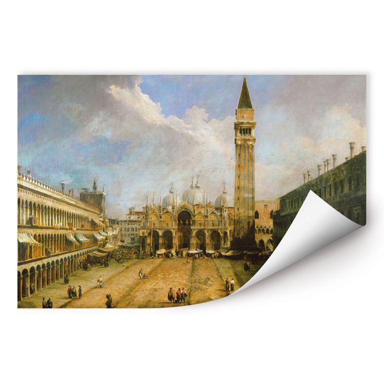 Wallprint W - Canaletto - Die Piazza San Marco