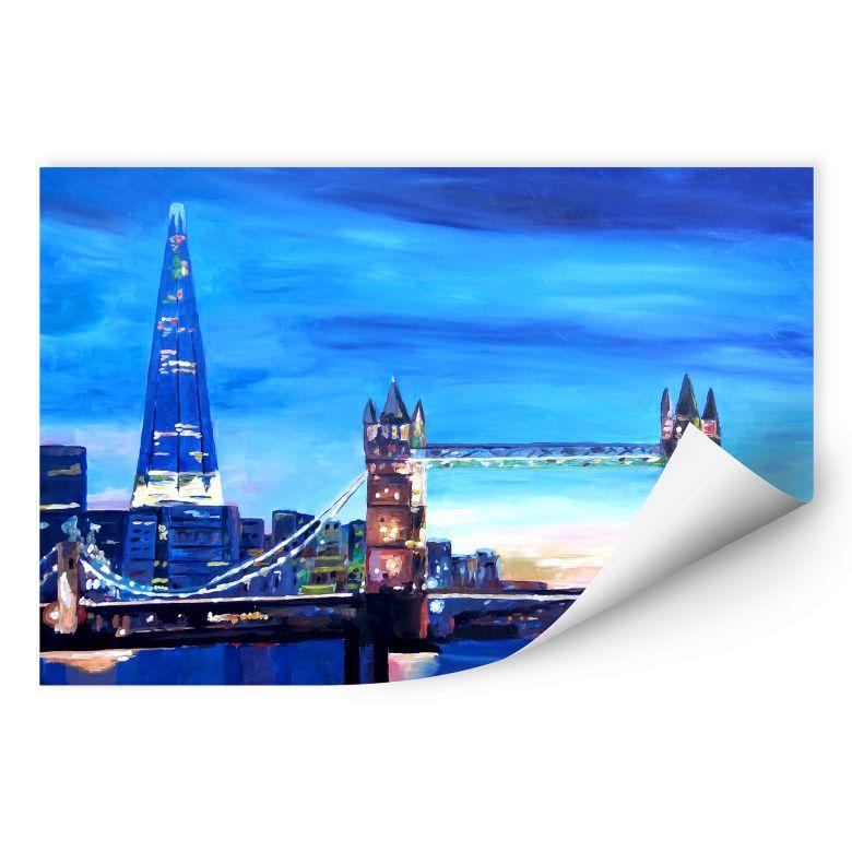 Wallprint W - Bleichner - London Tower Bridge und The Shard