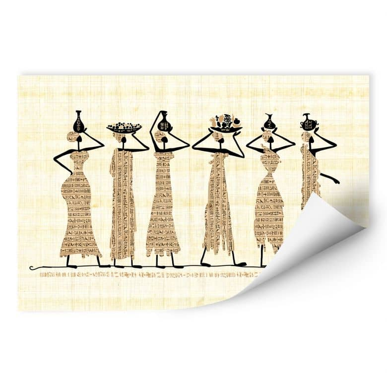 Wallprint W - Ägyptische Frauen