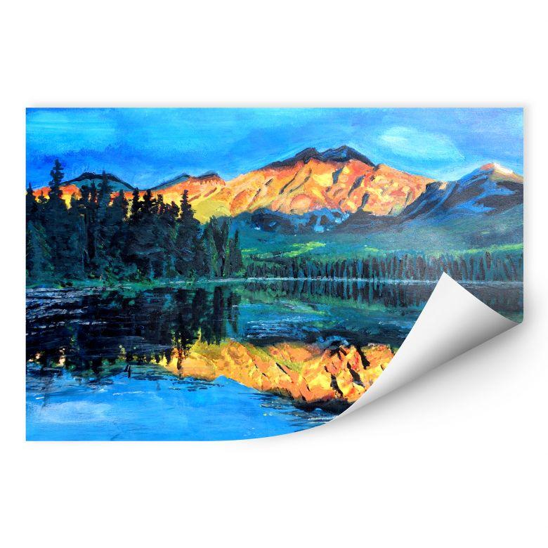 Wallprint W - Bleichner - Kanada - Der Jasper Nationalpark