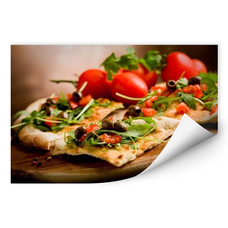 Wallprint W - Pizza all'Italiana