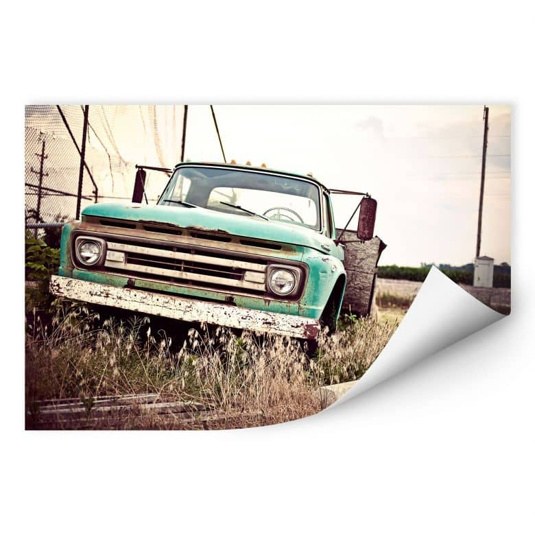 Wallprint W - American rusted Truck