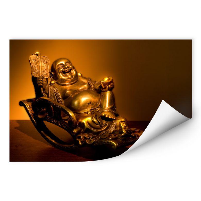 Wallprint W - Happy Buddha