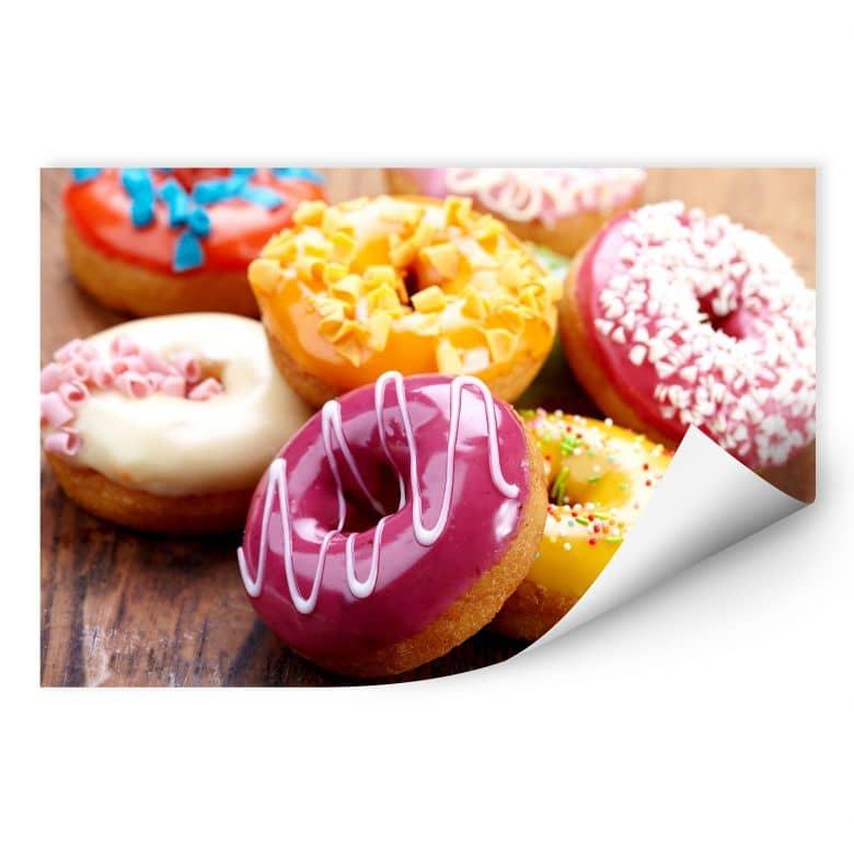 Wallprint W - Zuckersüße Donuts