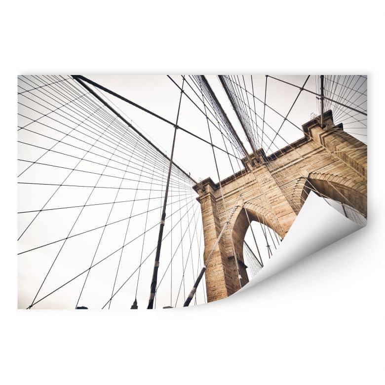 Wallprint W - Brooklyn Bridge - Perspektive 02