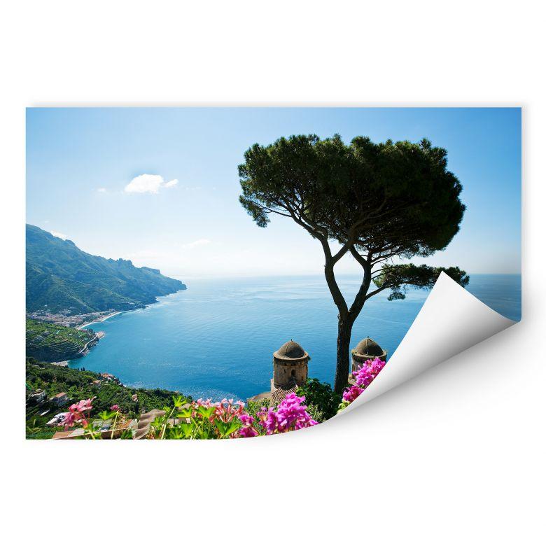 Wall print View on the Amalfi Coast