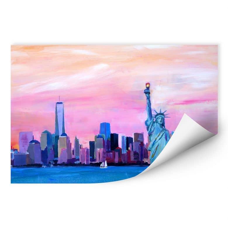 Wallprint Bleichner - New York Freiheitsstatue